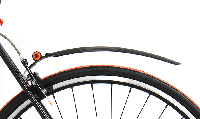 DMS107-BK ロードバイク・クロスバイク用マッドガードセット 各部特徴画像