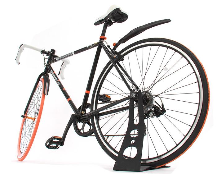 ロードバイク・クロスバイク用マッドガードセット画像