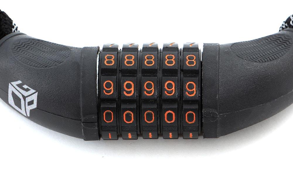 DKL121-BK ダイヤルコンボリフレクトチェーンロック(旧仕様) 主な特徴
