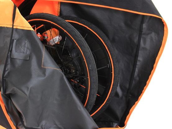 DB-6 輪行キャリングバッグ 各部特徴画像
