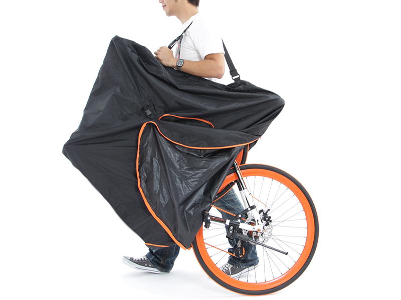 マルチユース輪行キャリングバッグシーンに応じて使い方いろいろ。選べる収納方法。画像