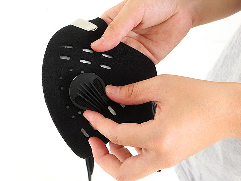 ダストシールドマスク専用交換フィルターフィルター交換方法画像