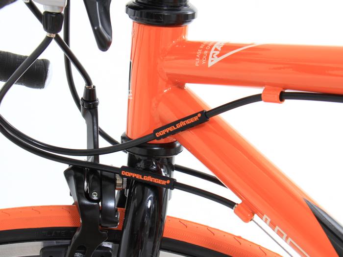 シリコンフレームプロテクター自転車を飾るアクセサリーとして。画像