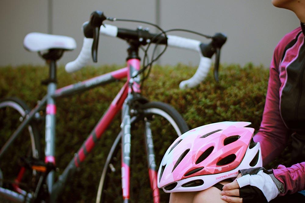 DHL271-PK レディースヘルメット 主な特徴画像