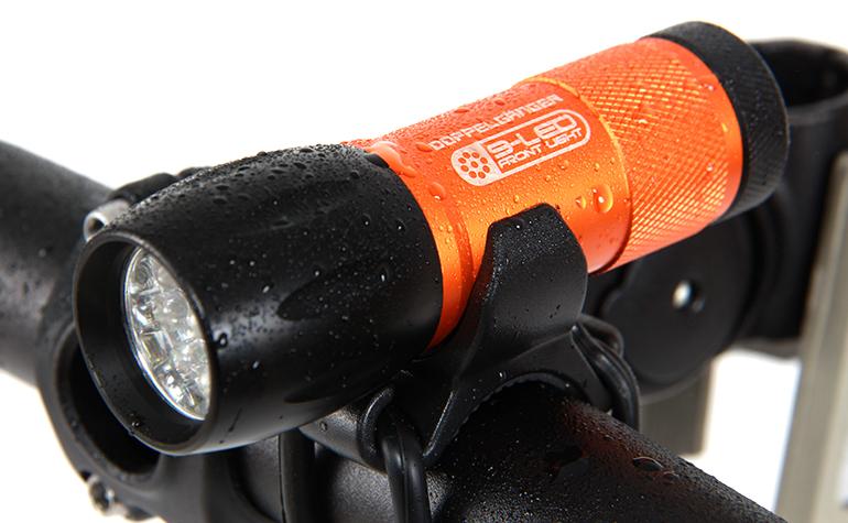 DLF300-DP LEDライト Nine-tailed fox 各部特徴画像