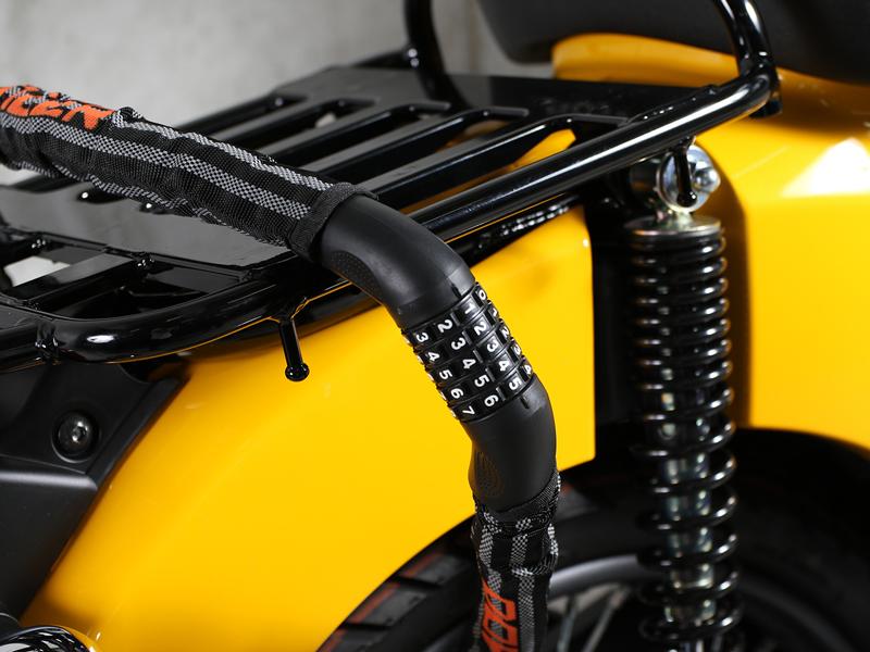 DKL320-DP ダイヤルコンボアーマードケーブルロック 主な特徴の補足