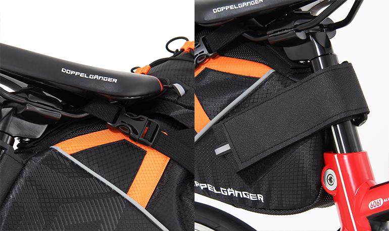DBS262-BK 大容量サドルバッグ 各部特徴画像