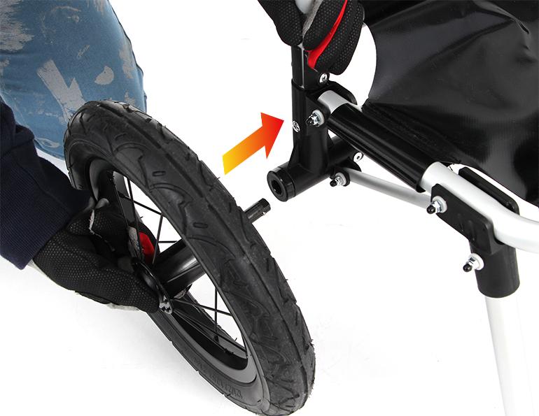 モバイルサイクルトレーラー組み立て方法 / 自転車への接続方法(静止画)画像