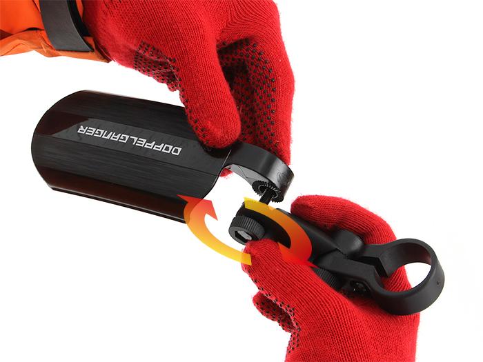 テレスコピックマッドガードセット製品取り付け方法(リア)画像