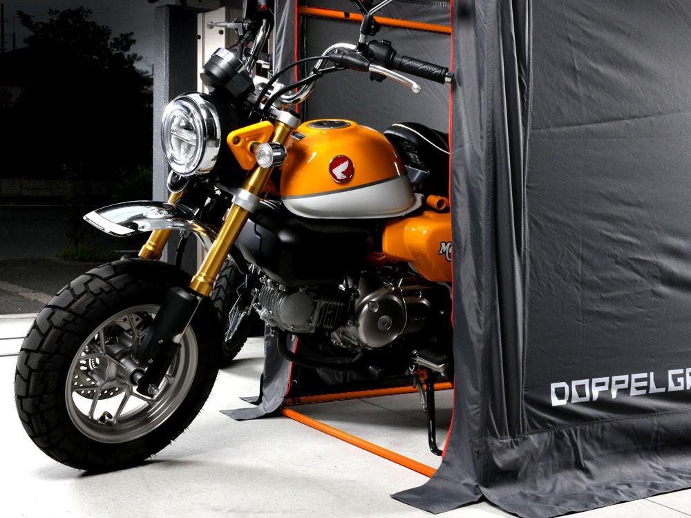 DCC330M-GY ストレージバイクガレージ 主な特徴