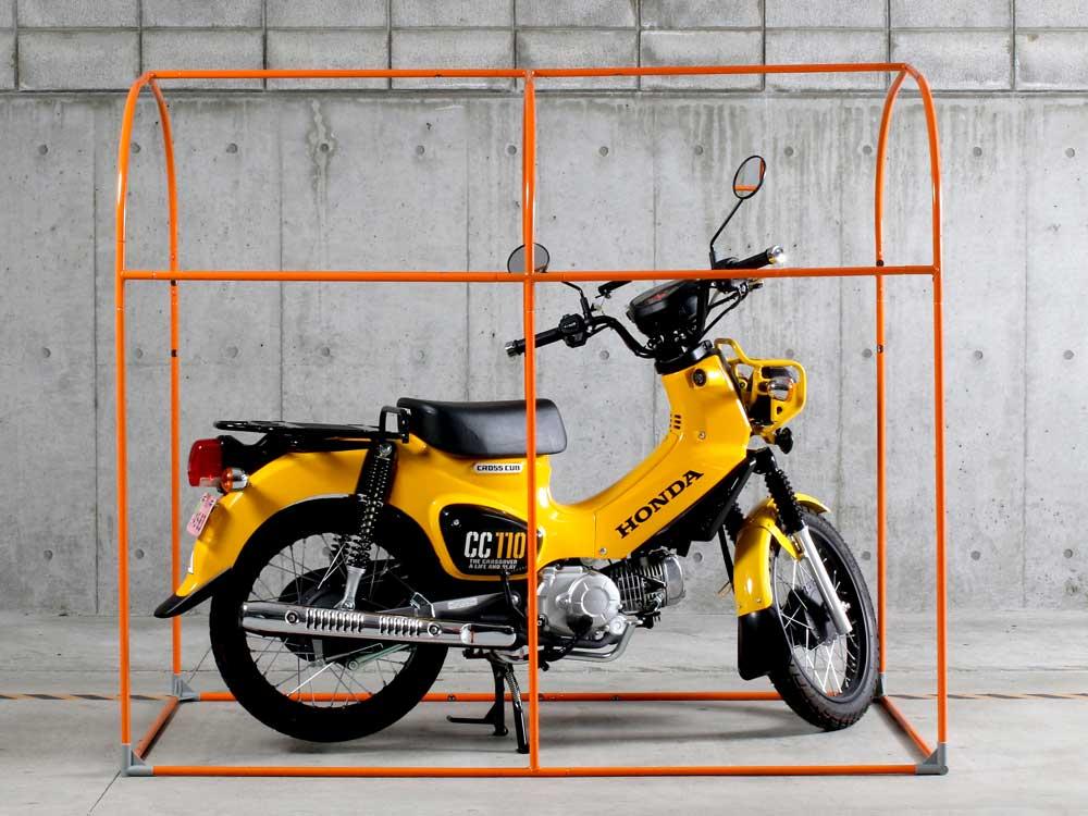 DCC330M-KH ストレージバイクガレージ 主な特徴の補足