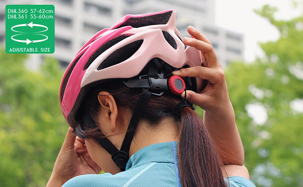 DHL361-PK ヘルメット 主な特徴