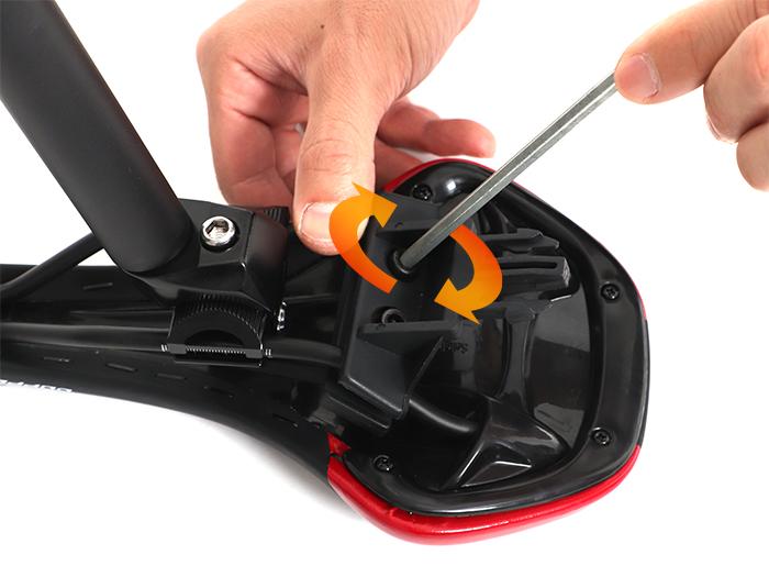 エクステンションサドルバッグ取り付け方法画像