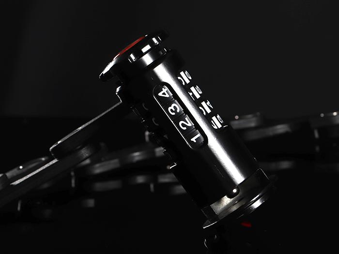 DKL352-BK ダイヤルコンボフォールディングブレードロック 各部特徴画像
