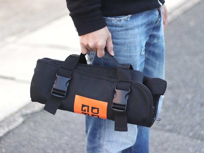DCB430-DP 輪行キャリングバッグ(折りたたみ大径車用) 各部特徴画像
