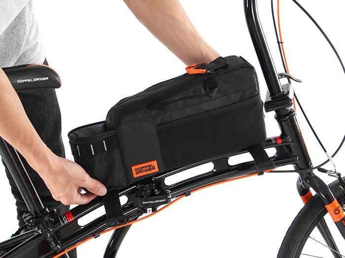 トップチューブバッグバッグの固定方法画像