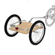 ウッディサイクルトレーラー製品画像