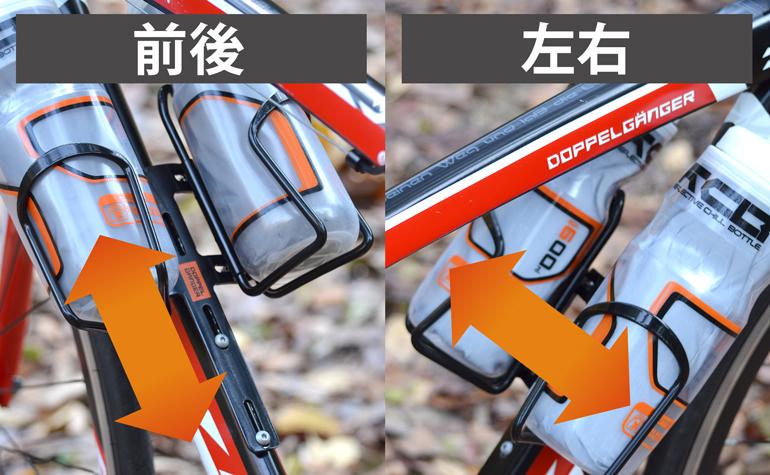 DBC432-BK ダブルケージマウント 各部特徴画像