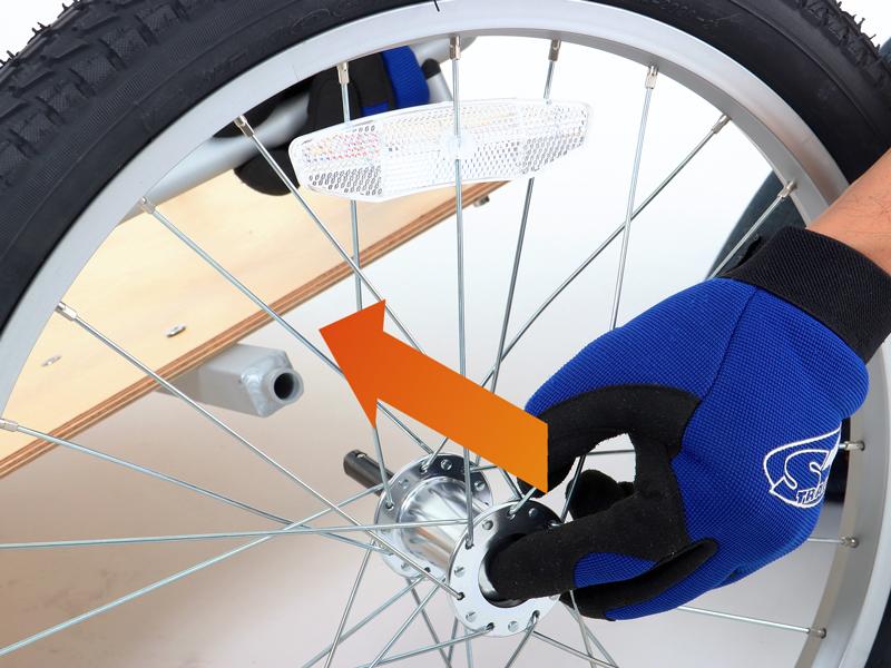 ウッディサイクルトレーラーウッディサイクルトレーラー本体の組み立て方法画像
