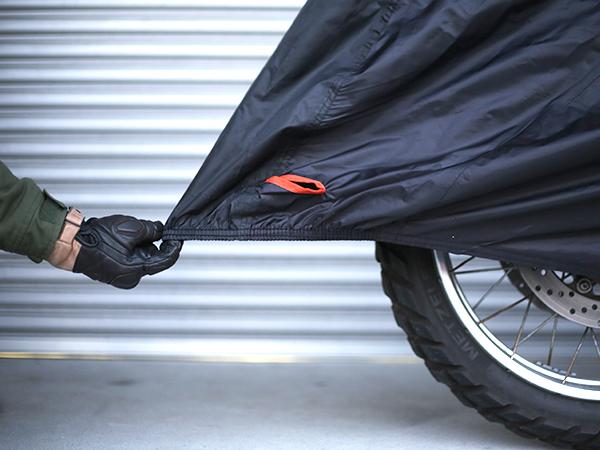 モーターサイクルカバーバイクカバーとしての基本性能も充実画像