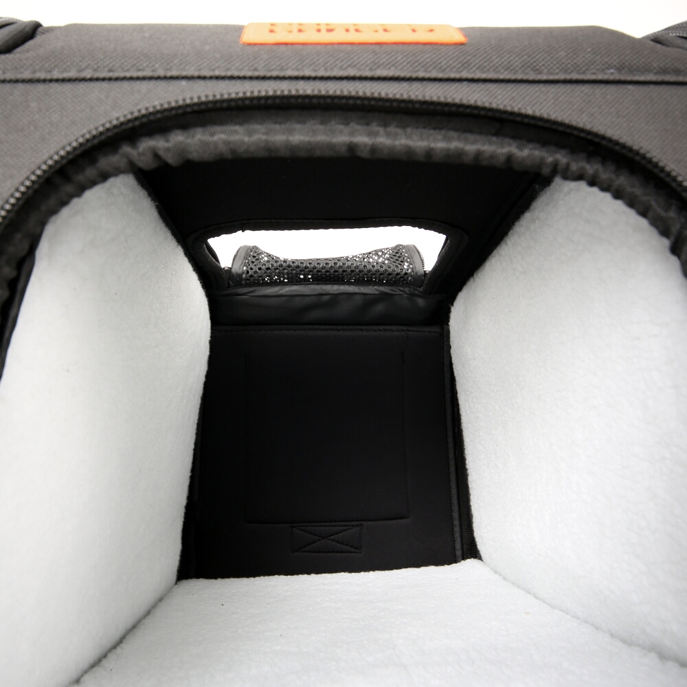 マルチユースペットキャリーバッグ内部画像