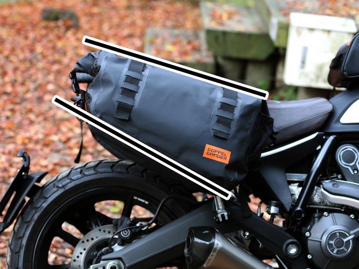 DBT393-BK ターポリンサイドバッグ 各部特徴画像