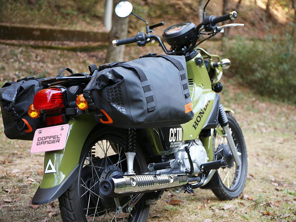 DBT393-BK ターポリンサイドバッグ 主な特徴