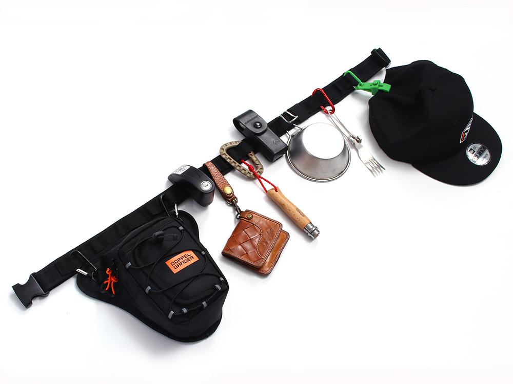 DBT441-GY ライダーズホルスターバッグ 主な特徴