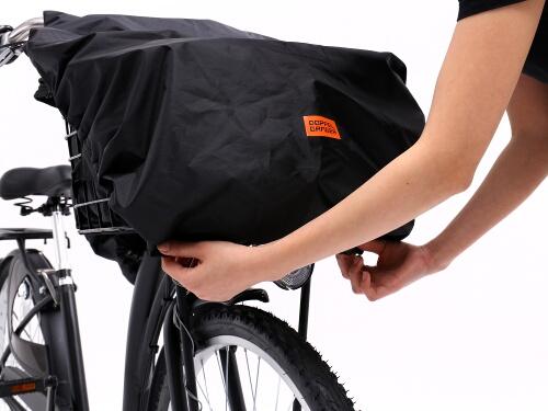 フロントバスケットカバー(自転車ハーフカバー付属)自転車ハーフカバーの使用方法 1画像
