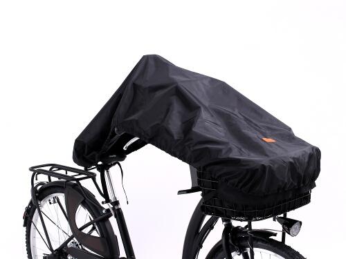 フロントバスケットカバー(自転車ハーフカバー付属)自転車ハーフカバーの使用方法 2画像