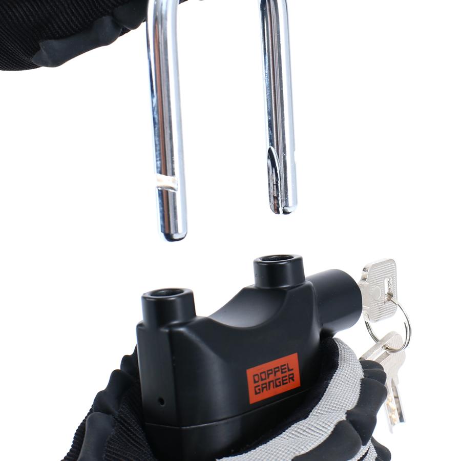 DKL450-BK アラームde南京錠 主な特徴の補足
