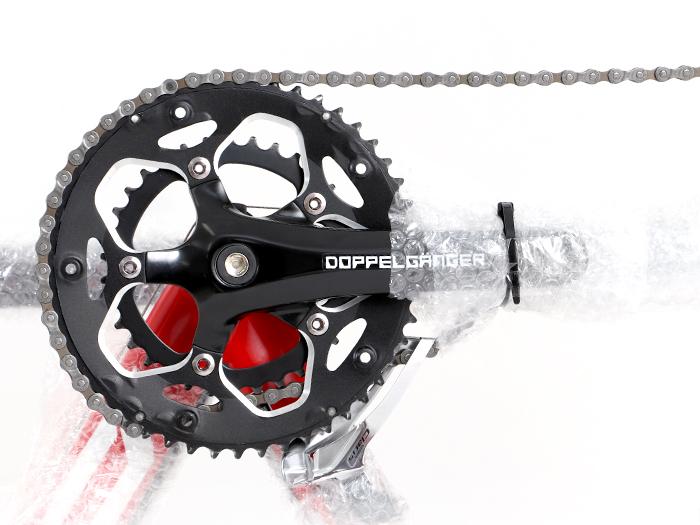 コンパクト輪行キャリングバッグ収納する自転車の保護について画像