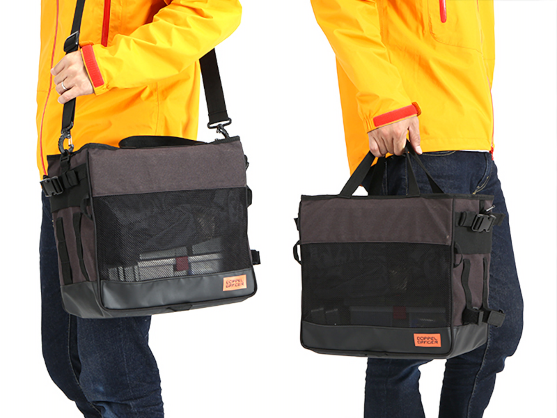 DBP435-DP ランガンサイクルサイドバッグ 各部特徴画像