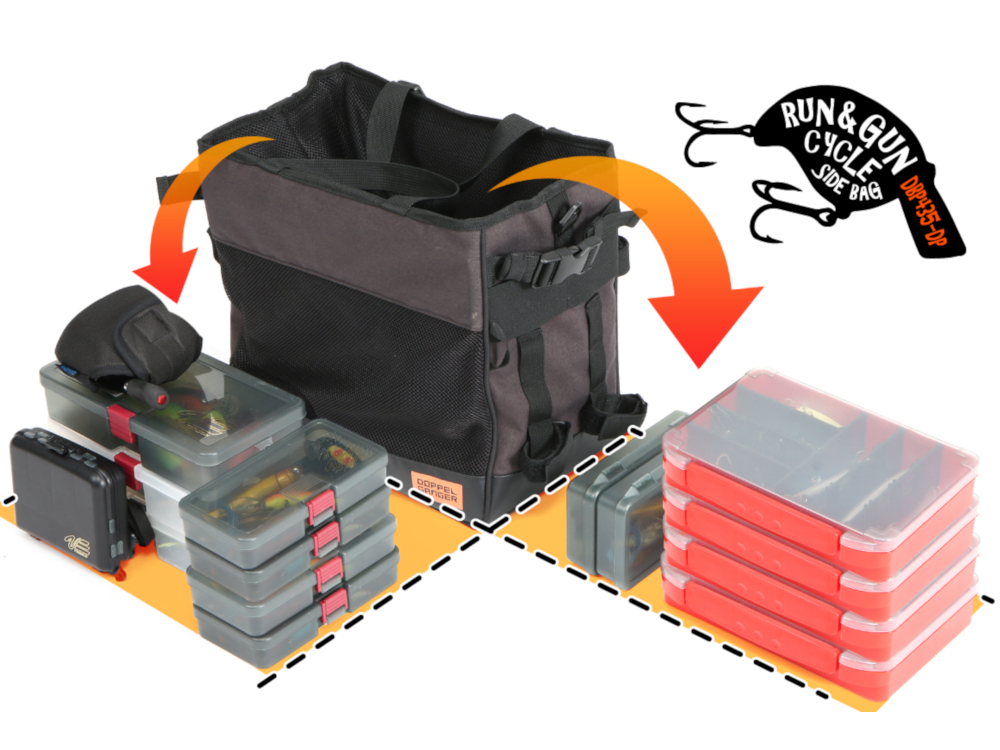 DBP435-DP ランガンサイクルサイドバッグ 主な特徴