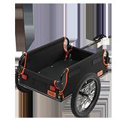 マルチユースサイクルトレーラー製品画像