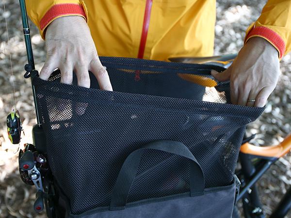 DBP435-DP ランガンサイクルサイドバッグ 使用の一例画像