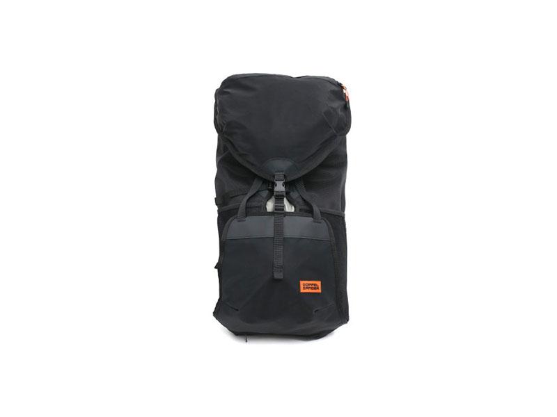 大容量サイドバックパック荷物の収納イメージ画像