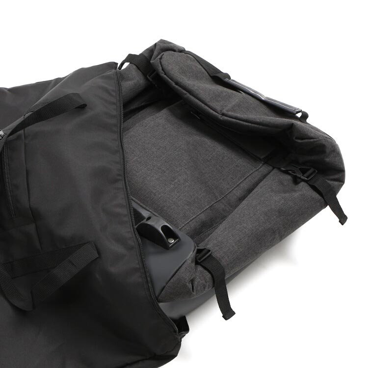 DCB471-GY フォルダブルスーツケース 各部特徴画像