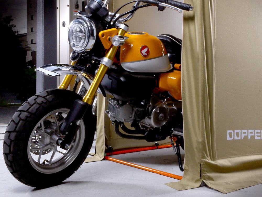 DCC330M-KH ストレージバイクガレージ 主な特徴