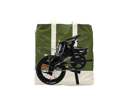 トラベロトートミニ14インチ自転車収納イメージ画像