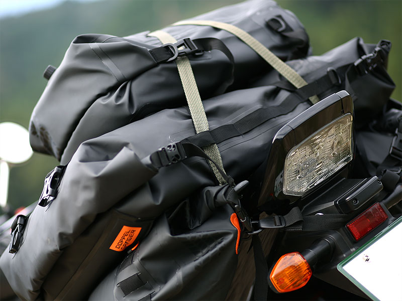 DBT427-BK ターポリンツーリングシートバッグ 主な特徴の補足