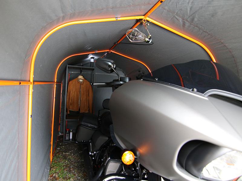 DCC330XL-GY ストレージバイクガレージ 主な特徴の補足