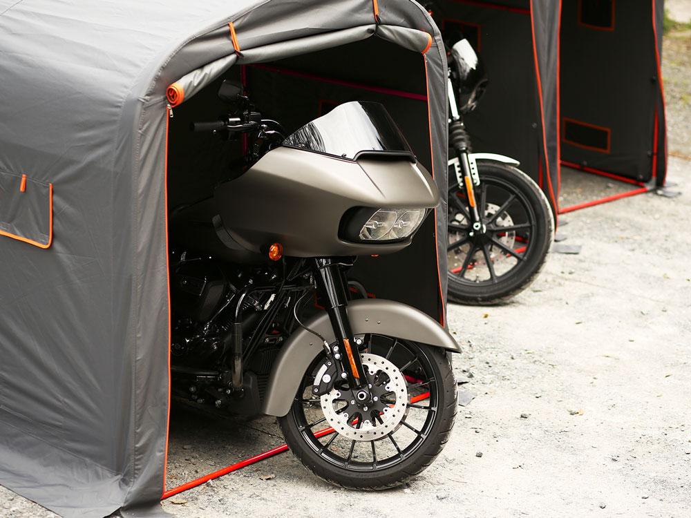 DCC330XL-GY ストレージバイクガレージ 主な特徴