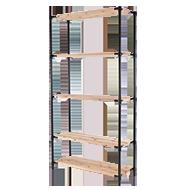 スチールラック支柱キット製品画像