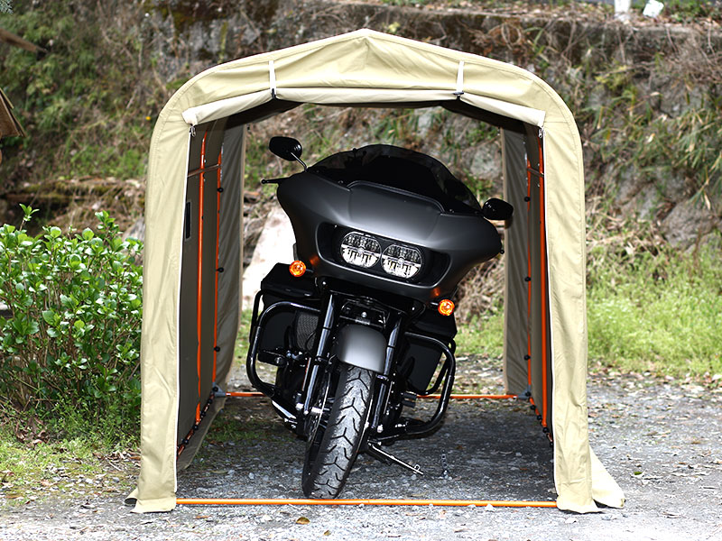 DCC330XL-GY ストレージバイクガレージ 各部特徴画像