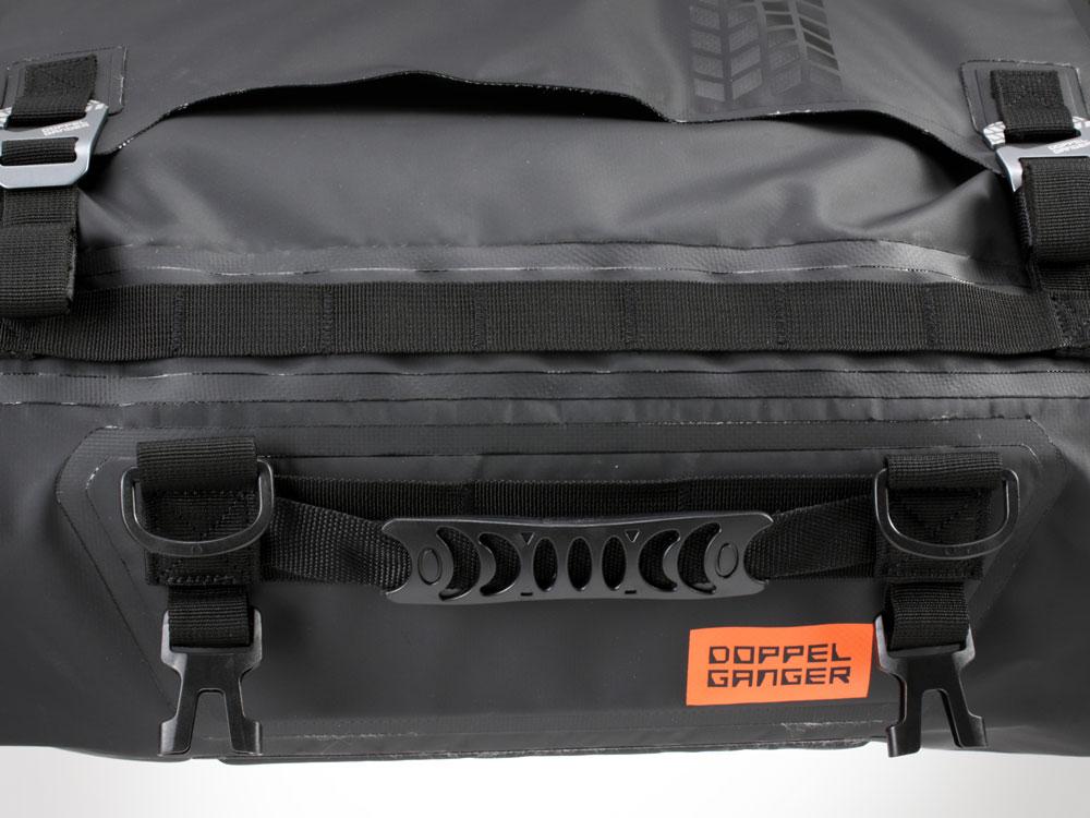 DBT511-BK ターポリンツーリングドラムバッグ 各部特徴画像