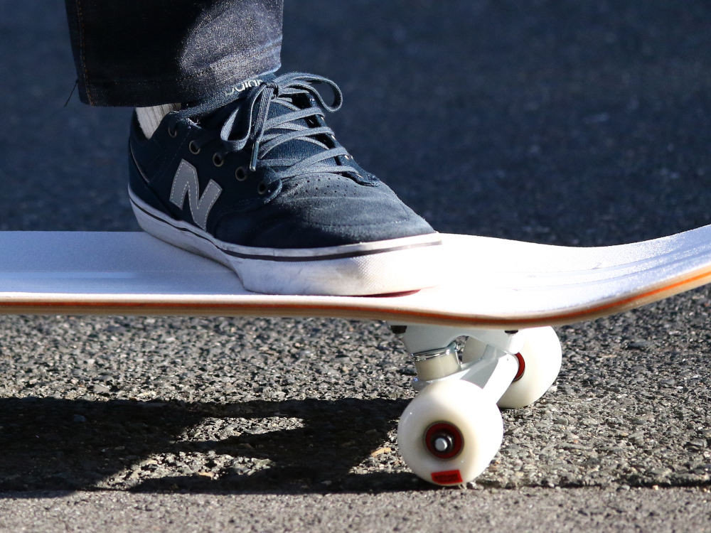 DSB001-WH スケートボード 各部特徴画像