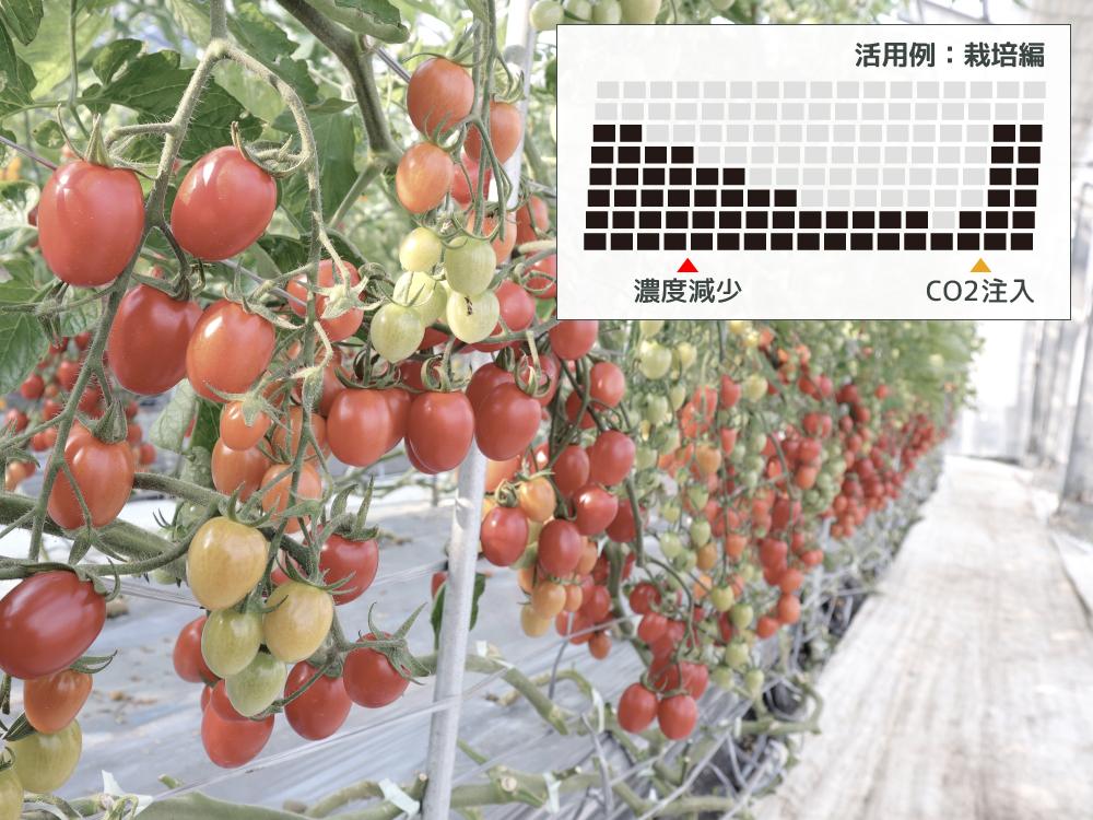 二酸化炭素濃度トレンドモニター二酸化炭素濃度(CO2濃度)を計測するメリット画像