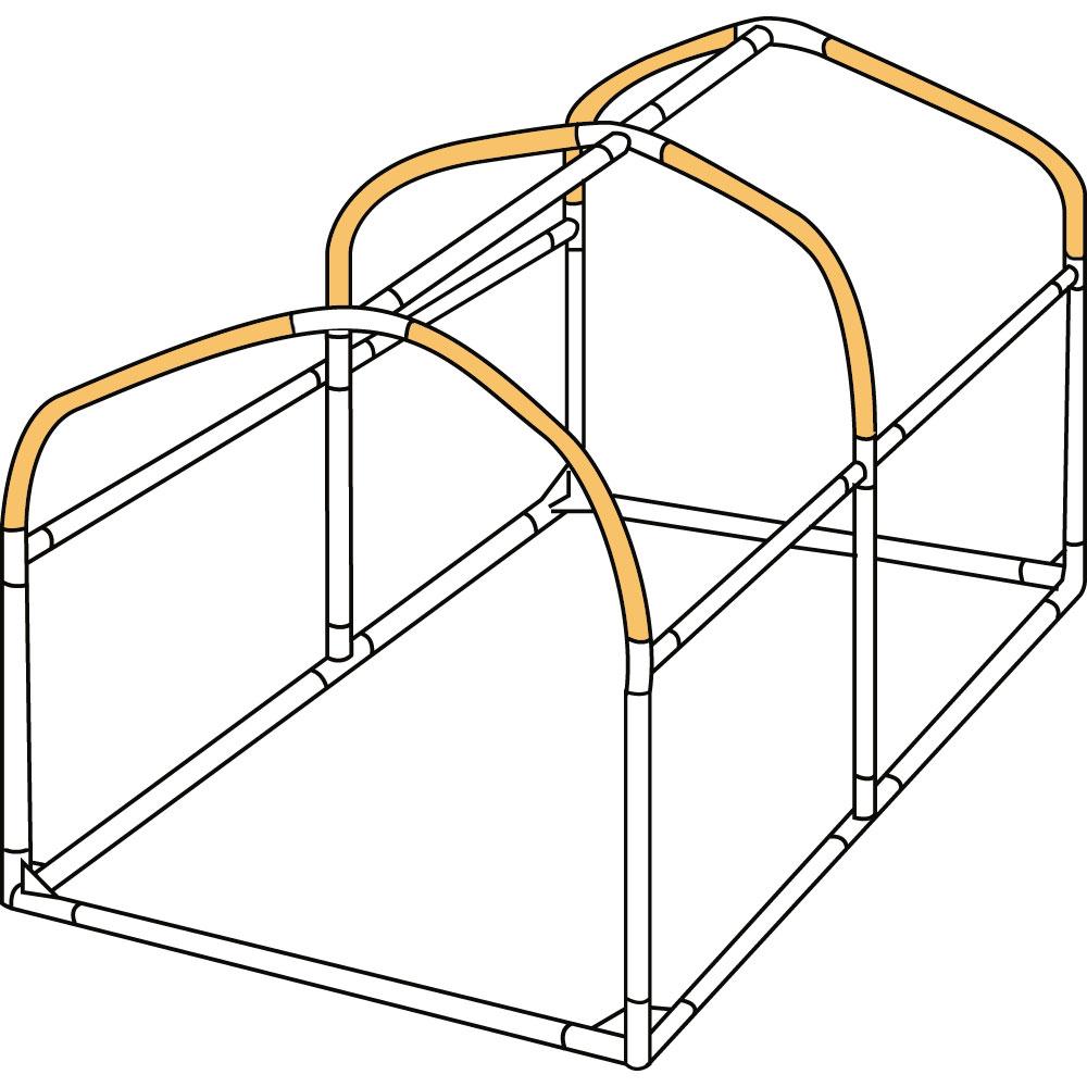 DCC330L-P バイクガレージDCC330L 交換用パイプ 主な特徴の補足