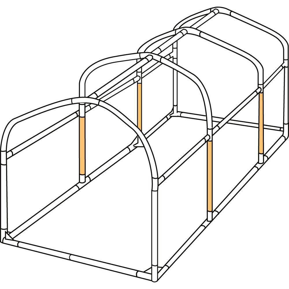 DCC330XL-P バイクガレージDCC330XL 交換用パイプ 主な特徴の補足